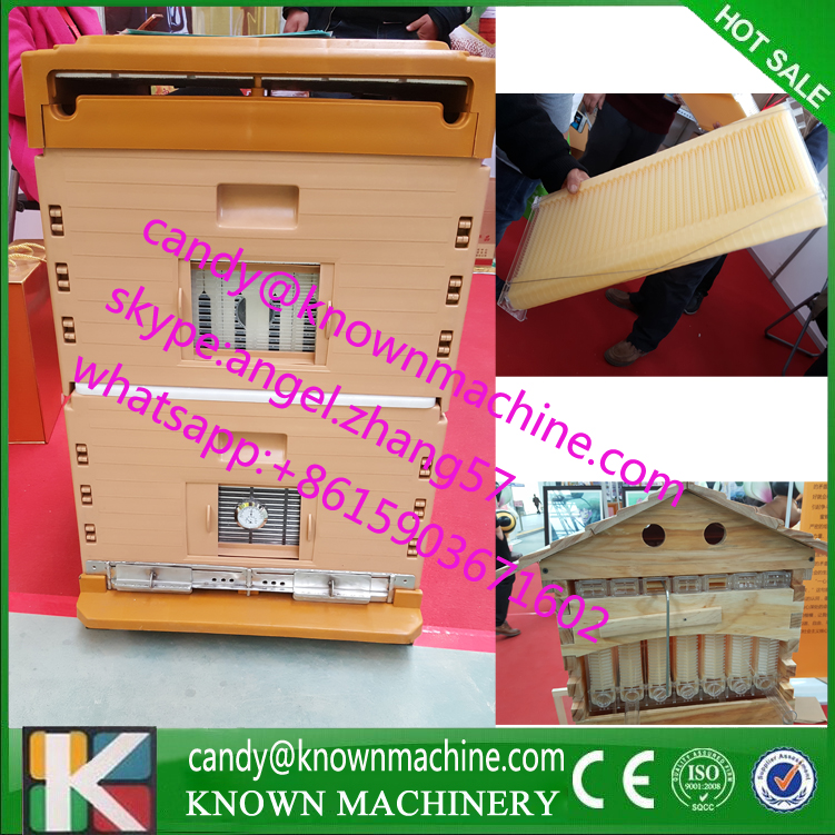 New beekeeping plastic bee hive with honey outflow frame