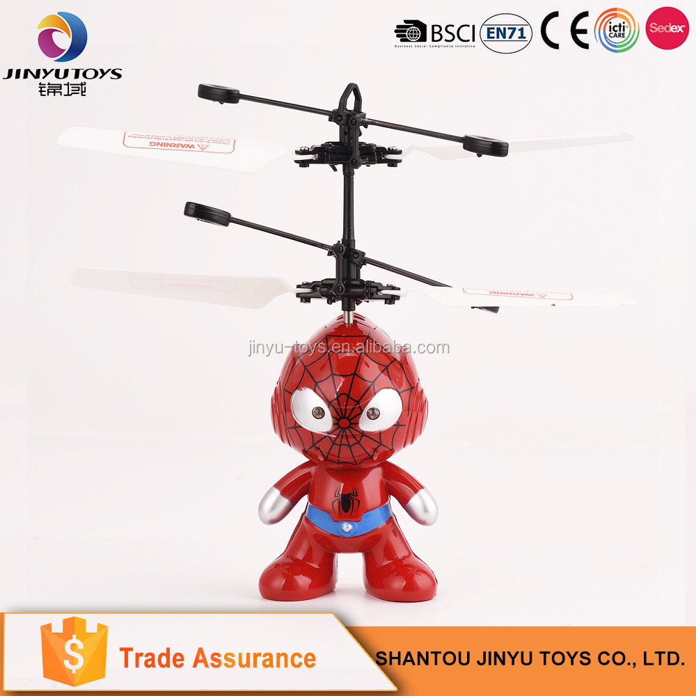Helicopter toy infrared induction flying toy helicopter model