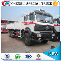 North-Benz Beiben 6x4 6x6 off-road Heavy Duty Cargo Truck 25 ton 30 ton Cargo truck price cheap for Sale