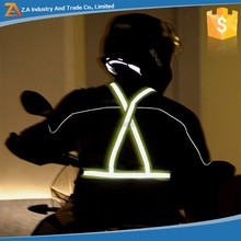 EN471 High Visible Night Driving Motorcycle Jacket Traffic Workwear Road Signs Reflective Safety Vest