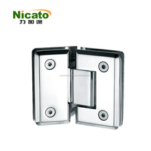 mirror bathroom fitting adjustable soft close glass gate hinge