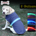 Waterproof LED Pet Cloth LED Safety Dog Jacket Coat
