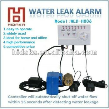 Home water leak detector system for water pipe leak underground water detection