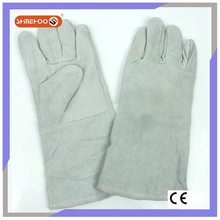 SHINEHOO Hand Protective Leather Welding Work Gloves