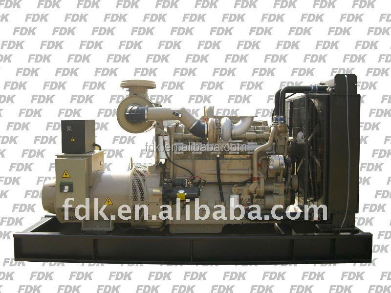 330kw used cummins engine assemble diesel generator KTA19-G2