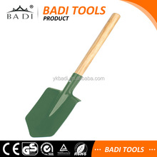 carbon Steel Digging Straight Wooden Handle Spade Shovel for Agriculture & Garden