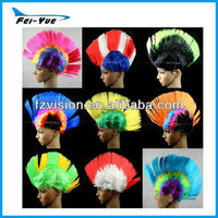 Novelty Runway Show Mohawk Hairstyle Carnival Party Headdress