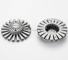 OEM injection die cast aluminum heatsink for led lamps