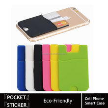 Amazon Wholesale Candy Color Cute Silicone Smart Wallet