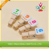 Fashion wholesale new product paper clip wooden clip