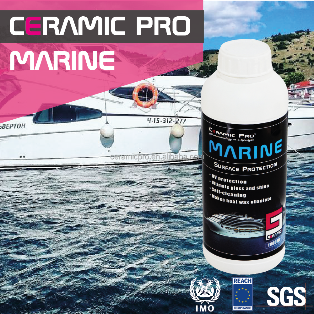 Ceramic Pro Marine Boat Protection Solution Ceramic Glass Coating