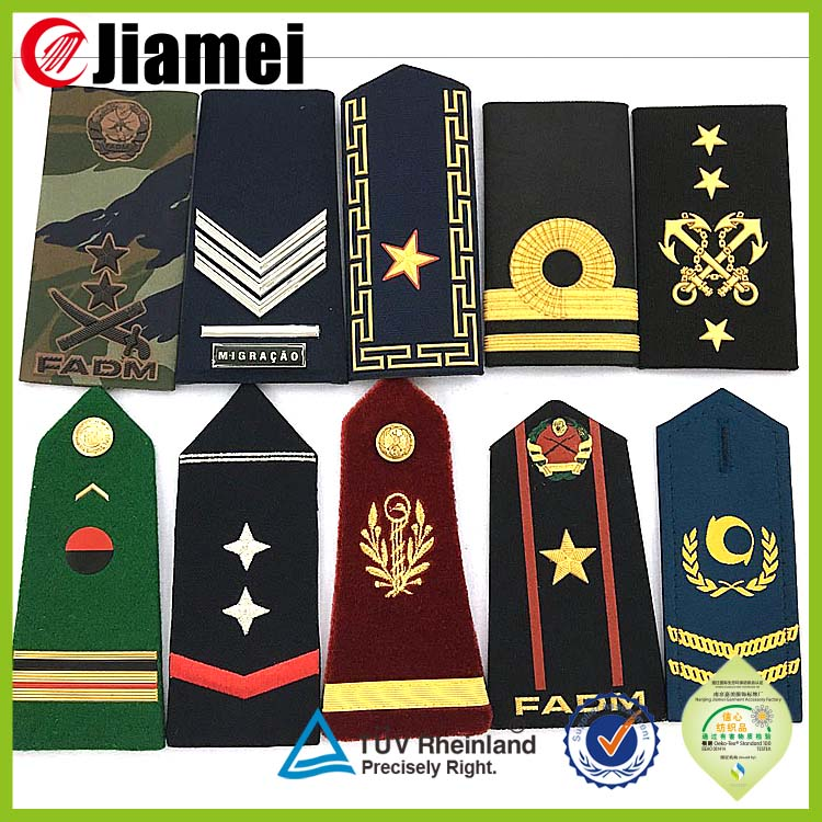 Polished insignia and badge supplier cheap OEM badge military for uniform