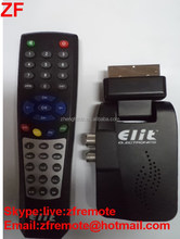 Black Elit ELECTRONICS remote control for Satellte Receiver Silvery PVC 38 KEYS Demultiplexer 2015 ZF Anhui led wireless remote