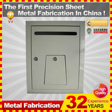32 years experience wall mounted lockable stainless steel mail box
