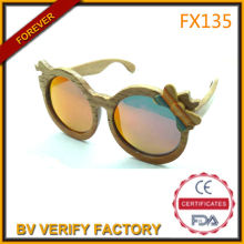 FX135 2014 New Style Glasses Frame Fashion Wooden Sunglasses