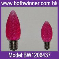 flicker flame bulbs H0T318, c7 bulb wire string lights