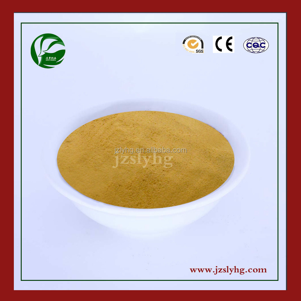 Calcium Lignosulphonate LY-1 Types Of Wood Raw Materials Construction Company
