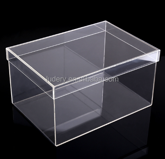 Clear Acrylic Sneaker Shoe Boxes / Clear Plastic Shoe Display Cases for Sale