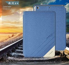 PU Leather Folio Stand Business Portfolio Case for iPad mini2