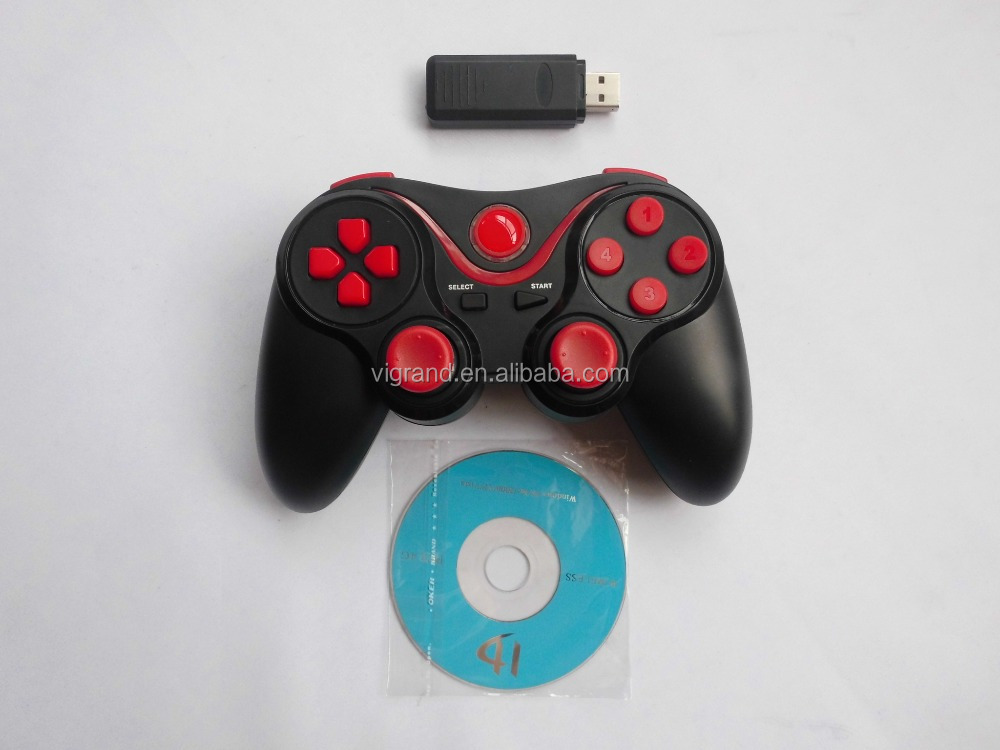 PC 2.4G Double Shock wireless USB Game Controller