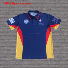 Mens sublimation body fit polo shirt