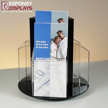 Gift Card Birthday Car Promotional Pamphlet Brochure Poster Menu Display Stand