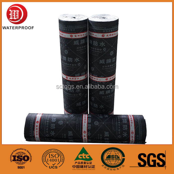 Deck APP Bitumen Waterproofing Membrane for Construction and Building