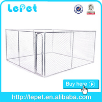 wholesale galvanized chain link dog cage dog run fence for sale