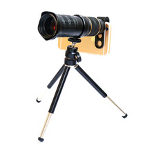 With tripod <strong>remote</strong> control Mobile Phone Lenses 18X - 30X Telephoto Monocular Zoom Camera Lens for iPhone <strong>X</strong> for Samsung s10