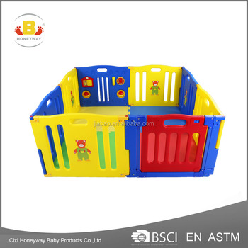 baby playpen with door passed ASTM F963 certificate & baby product
