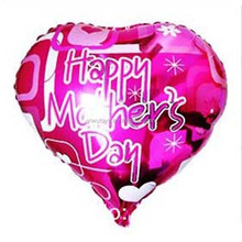 infatable helium happy mother's day festival foil balloon