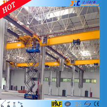 14 m lifter warehouse construction crane equipment building scaffold machinery repaired equipment double fold boom lift