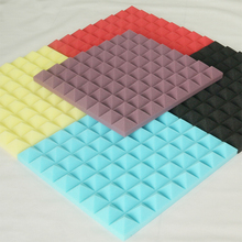 Cinema Soundproof Pad Materials Acoustic Foam Pyramid Panels