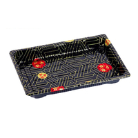 Cheap Price Food Grade PS Disposable Take Away Plastic Sushi Tray