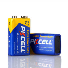 Super Heavy Duty 9V battery , 6F22 carbon zinc primary dry battery