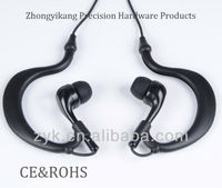 New products for 2013 Ear hook &waterproof earphone for sports