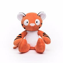 customized tiger stuffed animal organic tiger plush toy/soft toy for kid/high quality plush doll