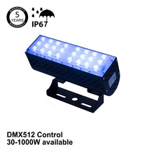 RGB Led Exterior Building Lights DMX512 50w Decorative Outdoor Wall Washer Lights RGBW For Christmas Outdoor Decoration