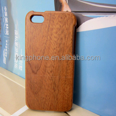 High quality sapele wooden mobile phone case for iphone 5 back cover,for iphone 5 wood case