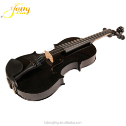 China Manufacturer Best Selling Spruce Face Material Black Violin