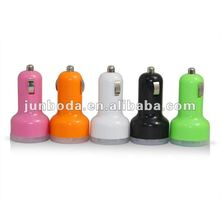 Mini Dual 2 Port USB Car Charger For iPhone 4G 3G 3GS ipod
