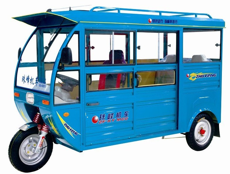cheaper 800W Power and 60V Voltage electric rickshaw
