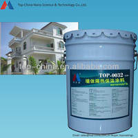 Environmental friendly Concrete Wall Coating for Heat Insulation