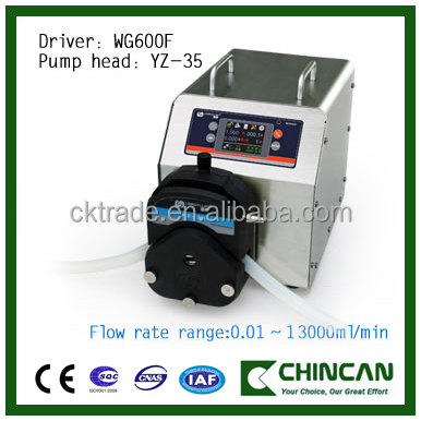 High Precision Flow Rate Peristaltic Tubing Pump