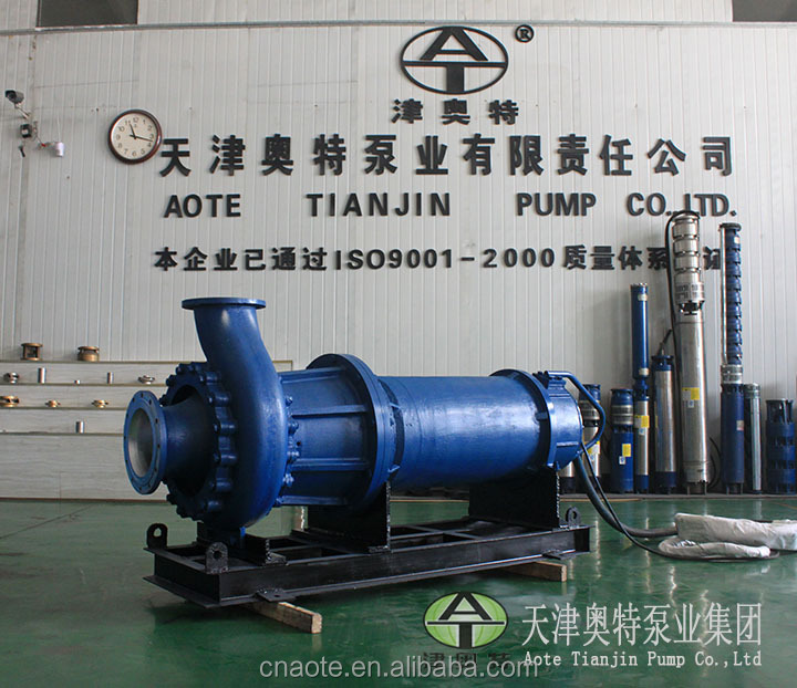 LX series screw centrifugal sewage pump for transfering wastewater with solids and sludes