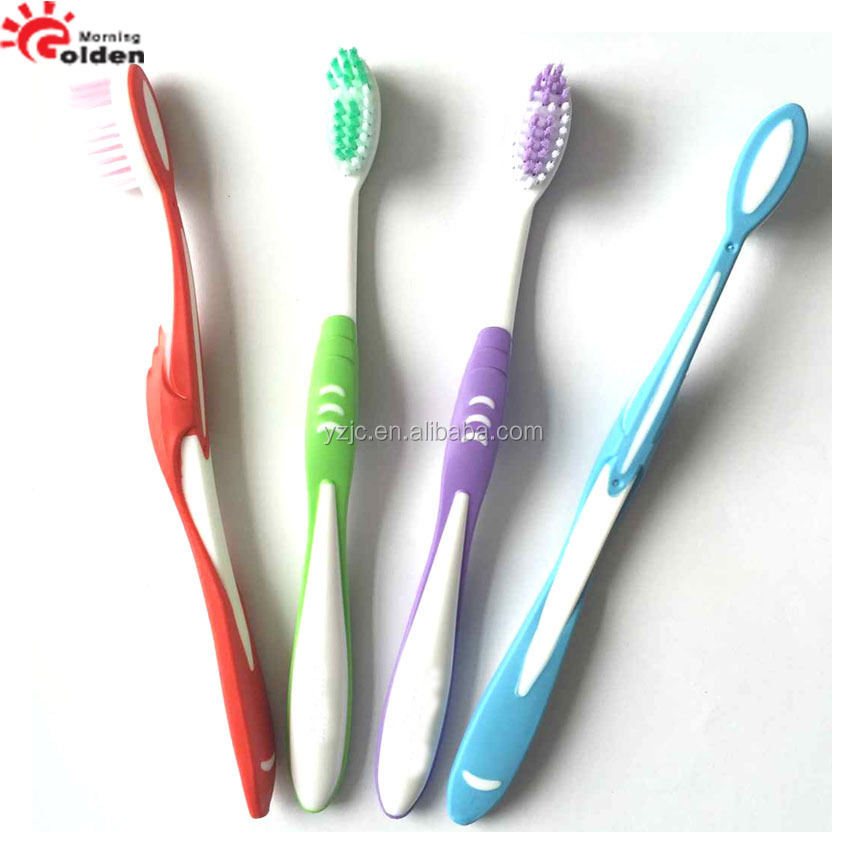 china style toothbrush rounded bristle couple toothbrush