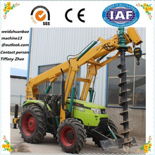 2016 HIGH QUALITY LOW PRICE SOIL HOLE DIGGER /PILE DRILLING MACHINE FOR SALE