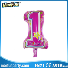 1st Birthday Party Balloon Decoration Aluminum foil for Birthday & Party & Anniversary