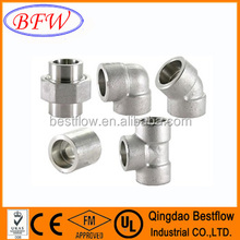 carbon steel and stainless steel butt-welding pipe fitting weight