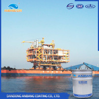 Off-shore environment anticorrosion protective effect oil based epoxy primer zinc-rich coating paint